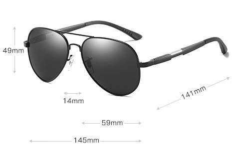 okulary aviator m03 wymiary