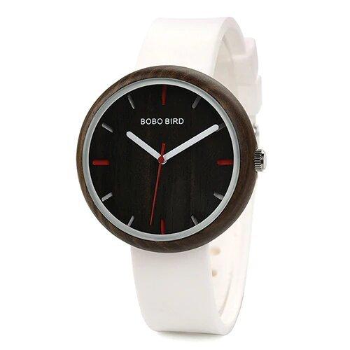 Zegarek Bobo Bird Round R28-2 Biały 1