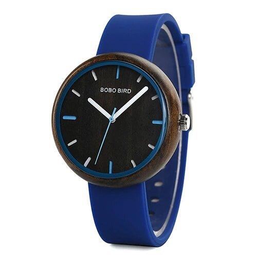 Zegarek Bobo Bird Round R28-1 Niebieski 1