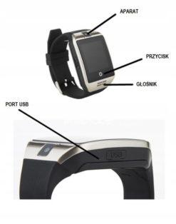 Smartwatch wielofunkcyjny 2