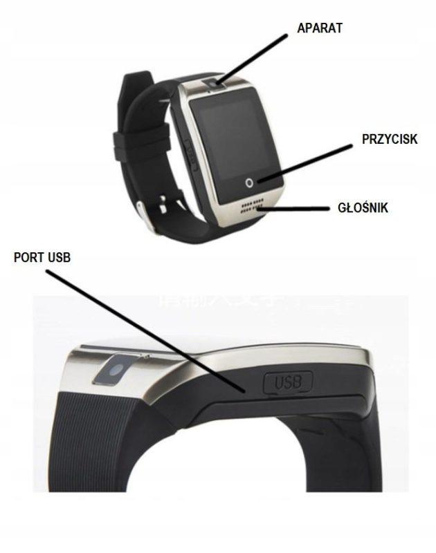 Smartwatch wielofunkcyjny 6