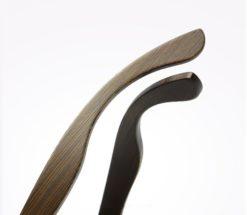 Drewniane okulary przeciwsłoneczne B07- niebieskie - bambus 5
