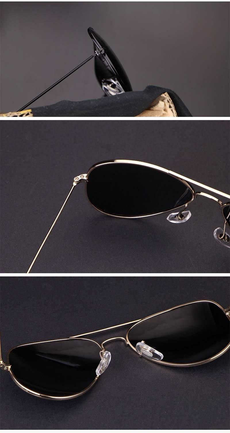 Okulary przeciwsłoneczne aluminiowe M05- srebrne 7