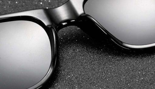Okulary przeciwsłoneczne D01 matowe zielone