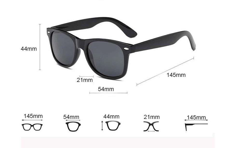 Okulary przeciwsłoneczne D01 matowe zielone 5