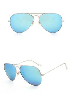 Okulary przeciwsłoneczne aluminiowe M05- jasno-niebieskie