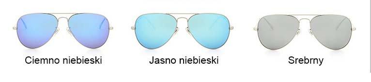 Okulary przeciwsłoneczne aluminiowe M05- srebrne 8