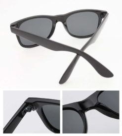Okulary przeciwsłoneczne D01 matowe zielone 4