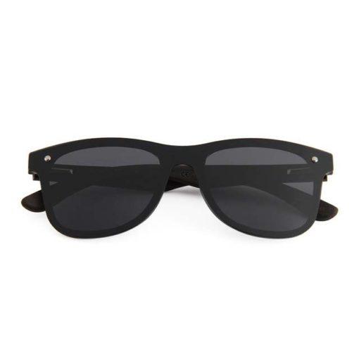 Drewniane okulary przeciwsłoneczne C04- czarne – heban