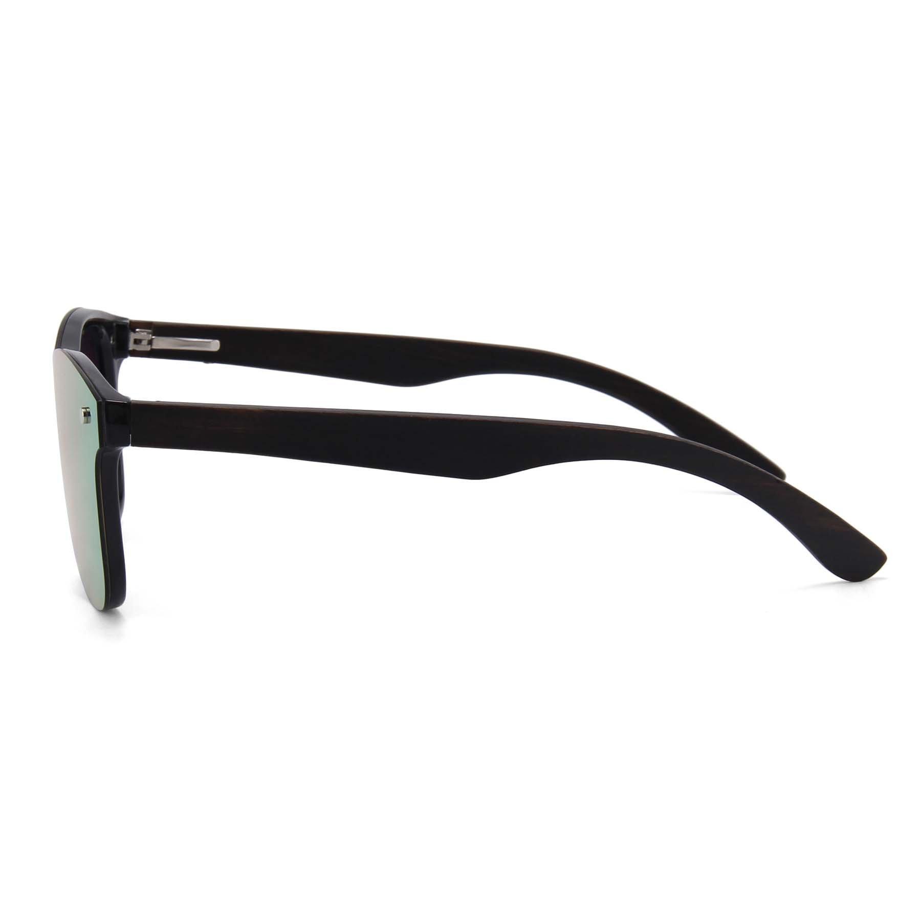Drewniane okulary przeciwsłoneczne C04- czarne - heban 7