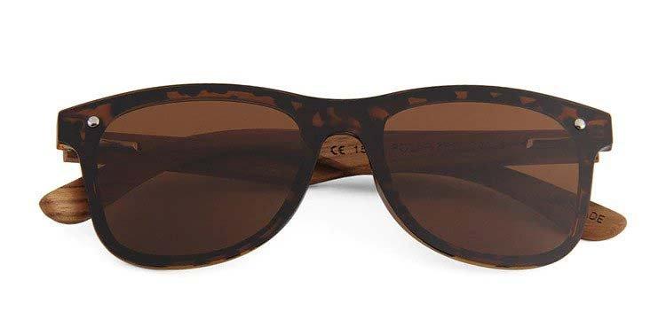 Drewniane okulary przeciwsłoneczne C04- panterki- zebrano 5