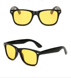 Okulary przeciwsłoneczne D01 matowe zółte
