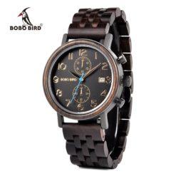 Zegarek drewniany Bobo Bird Premium S08-1