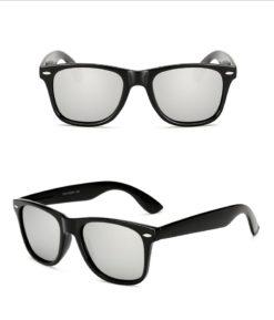 Okulary przeciwsłoneczne D01 matowe srebrne