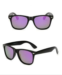 Okulary przeciwsłoneczne D01 matowe fioletowe