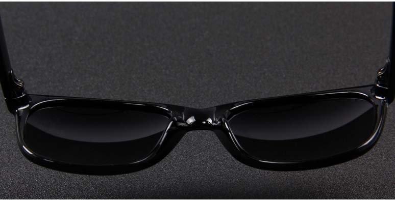 Okulary przeciwsłoneczne D02 błyszczące ciemno-zielone 11