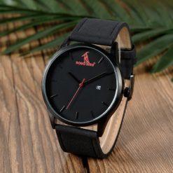 Zegarek drewniany Bobo Bird G15 czarny