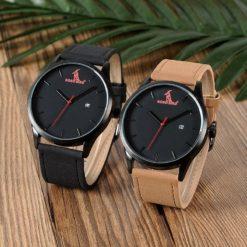 Zegarek drewniany Bobo Bird G15 czarny 2