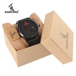 Zegarek drewniany Bobo Bird G15 czarny 3