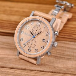 Zegarek drewniany Bobo Bird Premium S08-2 2