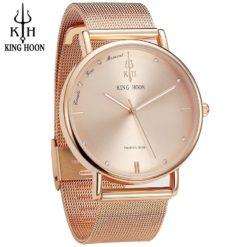Zegarek damski King Hoon Presitge – złoty