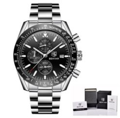 Zegarek Benyar Speedmaster czarny bransoleta