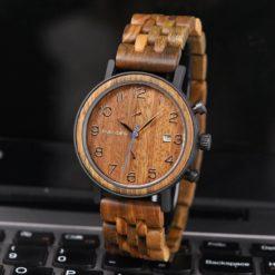 Zegarek drewniany Bobo Bird Premium S08-3 2