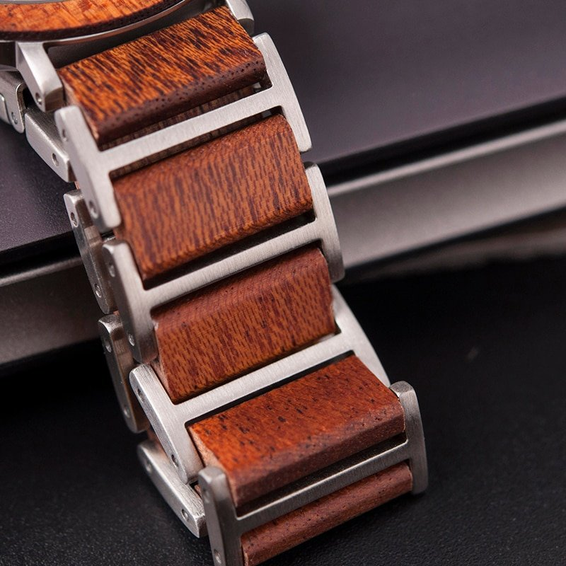 Zegarek drewniany Bobo Bird Lark S16-4 13