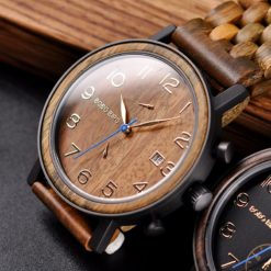 Zegarek drewniany Bobo Bird Premium S08-3 4