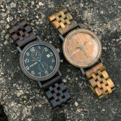 Zegarek drewniany Bobo Bird Premium S08-3 3