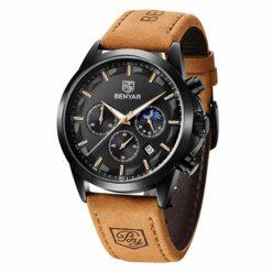 Zegarek Benyar Excellence czarno czarny