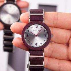 Zegarek drewniany Bobo Bird Lark S16-3 1