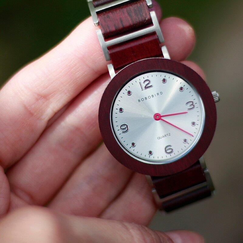 Zegarek drewniany Bobo Bird Lark S16-3 14
