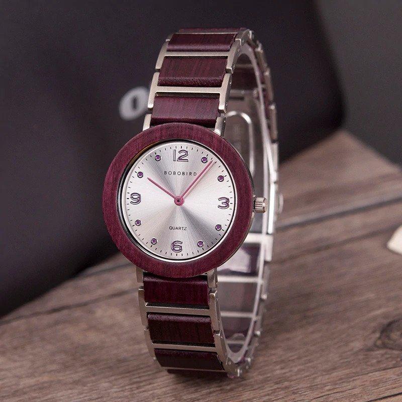 Zegarek drewniany Bobo Bird Lark S16-3 11
