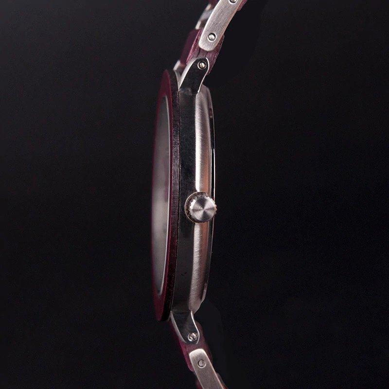 Zegarek drewniany Bobo Bird Lark S16-3 18