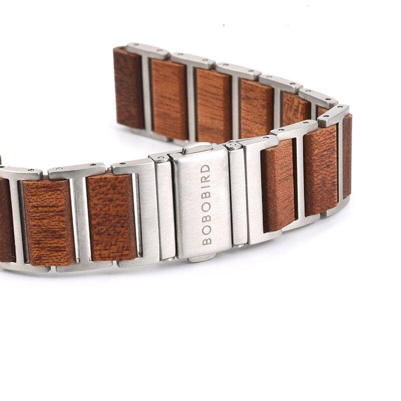 Zegarek drewniany Bobo Bird Lark S16-4 9