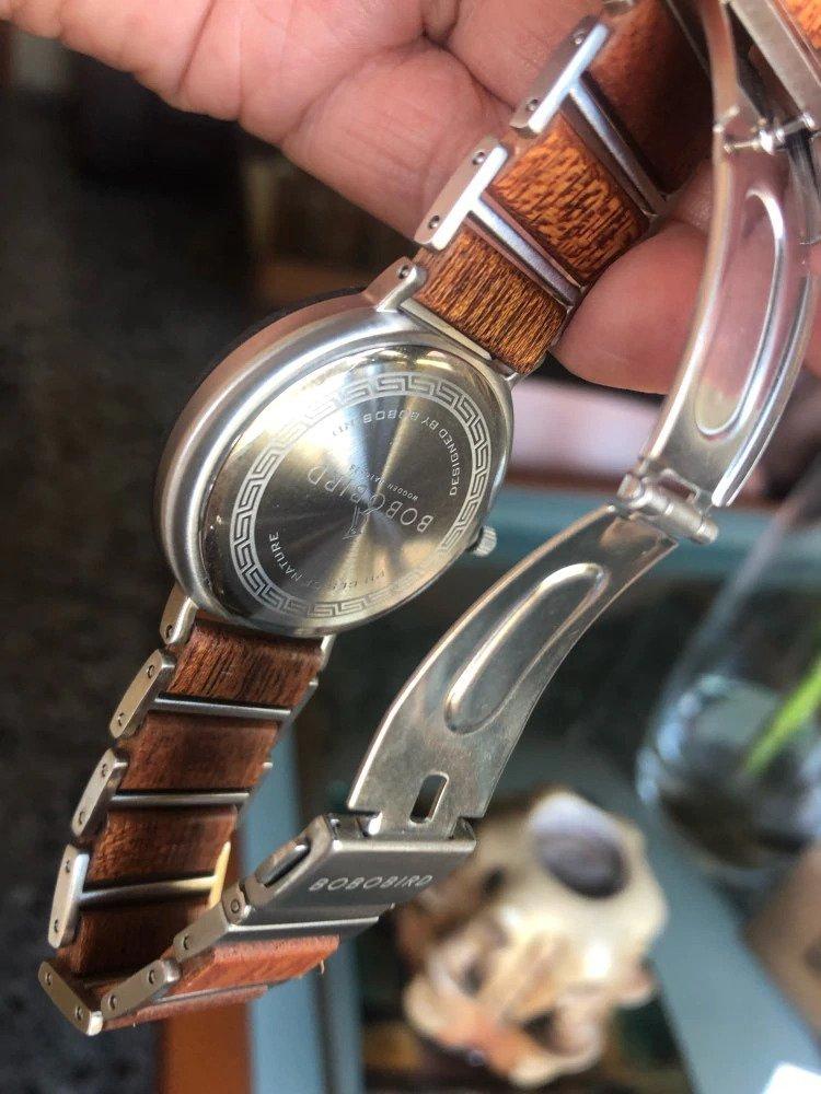 Zegarek drewniany Bobo Bird Lark S16-4 11