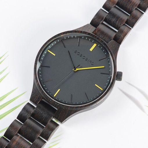 Zegarek drewniany Bobo Bird Slim S27-1