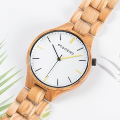 Zegarek drewniany Bobo Bird Slim S27-3 7