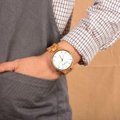Zegarek drewniany Bobo Bird Slim S27-3 5