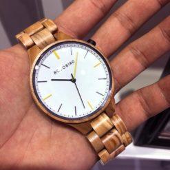 Zegarek drewniany Bobo Bird Slim S27-3 4