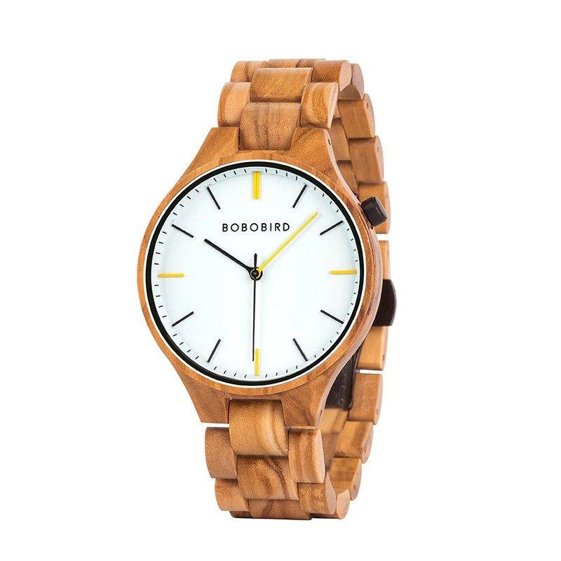 Drewniany zegarek Bobo Bird Slim S27-3
