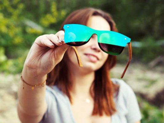 Okulary przeciwsłoneczne lustrzanki