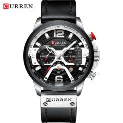 Zegarek Curren Milano czarny srebrny
