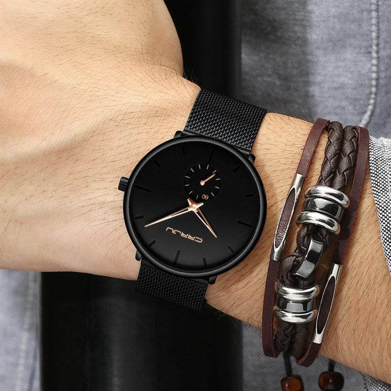 Zegarek Crrju Fun złoty 12