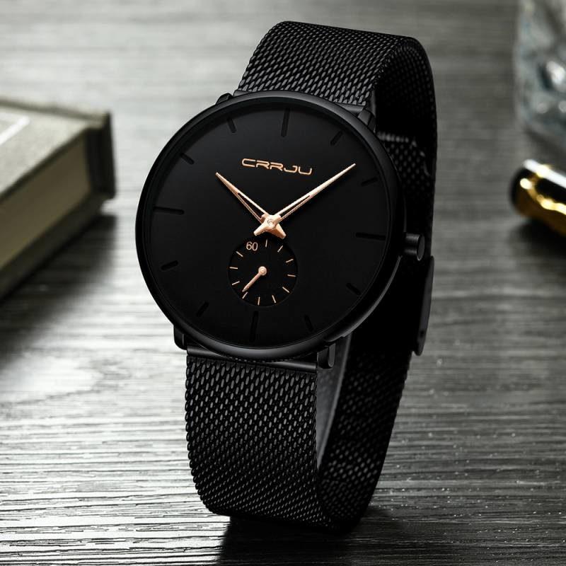 Zegarek Crrju Fun złoty 11