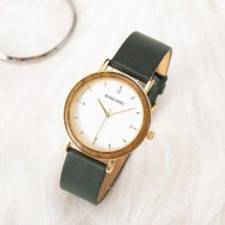 Zegarek drewniany Bobo Bird Amelie T21 khaki