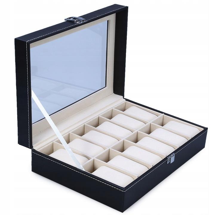 Pudełko na zegarki 12 sztuk 9