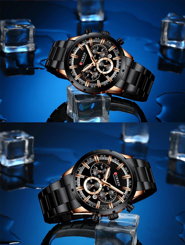 Zegarek Curren Navy Czarny 3
