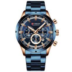 Zegarek Curren Navy Niebieski